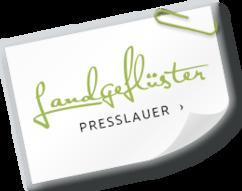 [Translate to Englisch:] Landhotel Presslauer