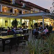 Terrasse im Landhotel Birkenhof