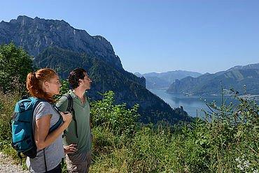 Wandern am Traunsee