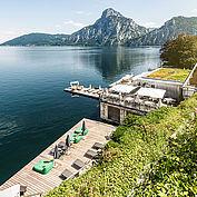 @ Landhotel Das Traunsee/Christof Wagner - alle Zimmer mit Balkon und Seeblick