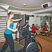 Fitnessraum im Landhotel Alpenhof