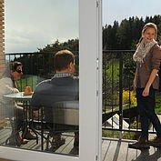 © Landhotel Berger, Josef Zingl - Herrlicher Blick vom Balkon ins Grüne