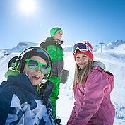 Familienskitag am Kitzsteinhorn © Zell am See Kaprun Tourimus