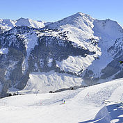 Skifahrer am Wiedersbergerhorn © Alpbachtal Seenland Tourismus