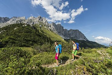 Wandern am Wilden Kaiser © TVB Wilder Kaiser - Daniel Reiter Peter von Felbert