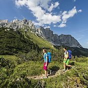 Wandern am Wilden Kaiser © TVB Wilder Kaiser