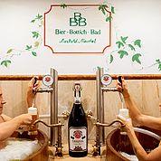 © Landhotel Moorhof - Baden in Malz und Hopfen ein Erlebnis