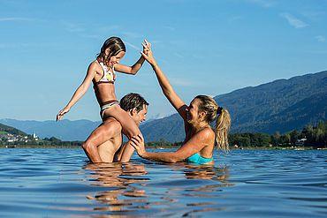 © Pressegger See - Badespaß für die ganze Familie