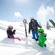 Familie hoch2 © Salzburger Land Tourismus