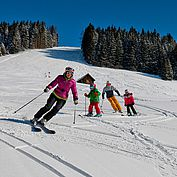 Familienabfahrt Ski Amade