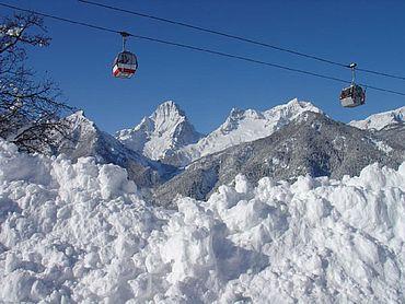 Gondelbahn Bergbahn Winter