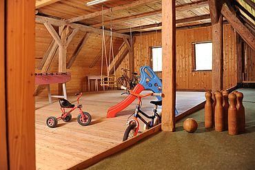 © Landhotel Gressenbauer - Kinder Indoorspieplatz