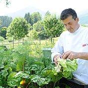 eigener Kräuter- und Gemüsegarten