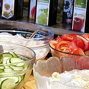 © Landhotel Kaserer - Knackiges Salatbuffet