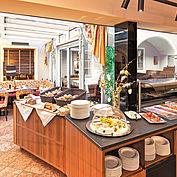 Frühstücksbereich © Landhotel Mader