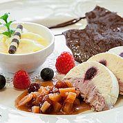 © Landhotel Tirolerhof/ Thomas Trinkl - koestliche Dessert bei uns