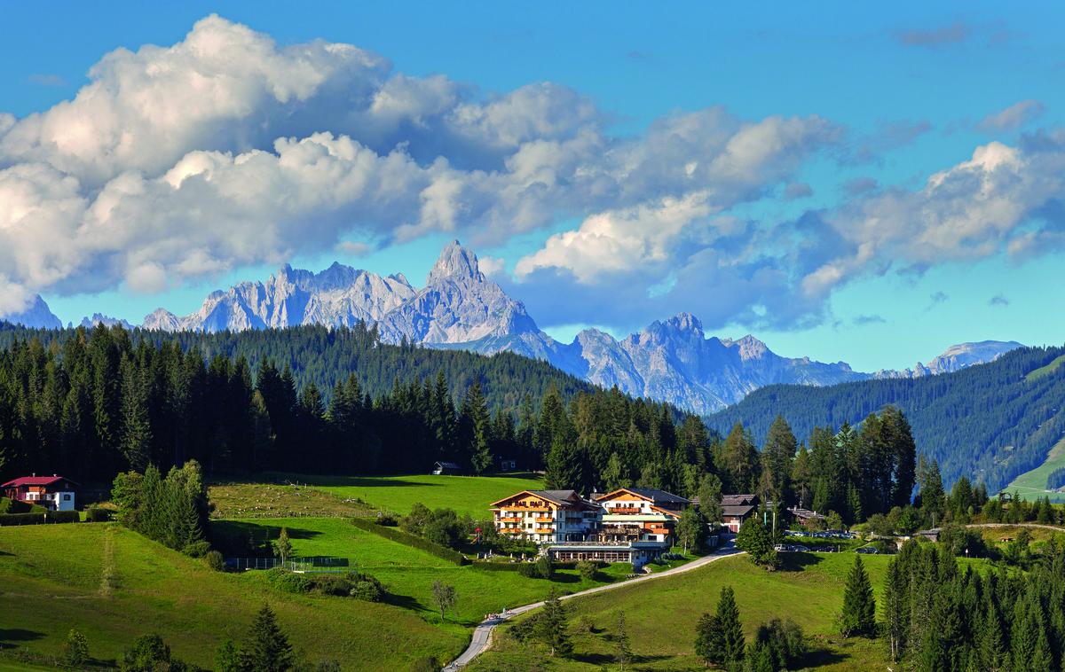 Landhotel Edelweiss in der Wagrainer Bergwelt