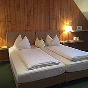 Doppelzimmer im Landhotel Forsthof