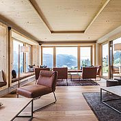 © Landhotel Edelweiss - Lounge mit Panormablick