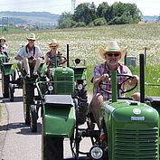 Traktorausfahrt © TV Franking