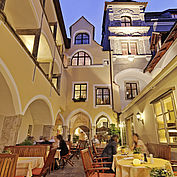 Innenhof © Landhotel Mader