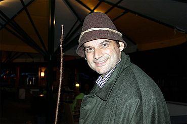Michi Walchhofer beim Sagenspaziergang