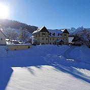 Landhotel Gressenbauer Hotelansicht Winter