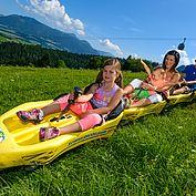 Sommerrodeln ein Spass für die ganze Familie