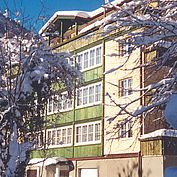 © Landhotel Post - Parkhotel im Winter