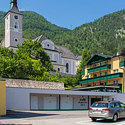 Landhotel Post Ebensee - Aussenansicht