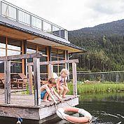 © Landhotel Edelweiss - Naturschwimmteich