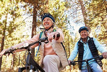 Radurlaub in Österreich für Senioren