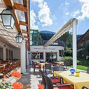 © Landhotel Tirolerhof/ Thomas Trinkl - unsere Sonnenterrasse