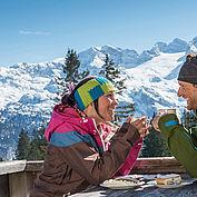 Skihuetten Kulinarik, (c) Dachstein West, Header