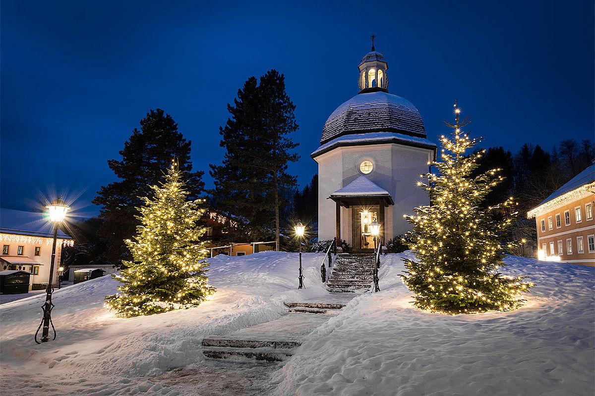Stille Nacht Kapelle - Tourismusverband Oberndorf