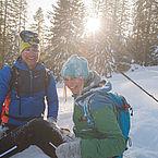Schneeschuhwandern, (c)Salzburger Saalachtal Tourismus