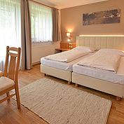 gemütliches Doppelzimmer mit Balkon im Landhotel Gressenbauer