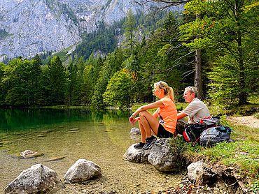 Wandern am Langbathsee © MTV Ferienregion Traunsee
