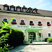 Landhotel Forsthof Sommeransicht