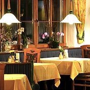 Landhotel Kaserer - Gemütlichkeit im Speisesaal