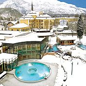 © Eurothermenresort - Eurothereme Bad Ischl im Winter am Tag