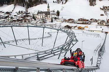 Drachenflitzer Wildschönau im Winter, Fotograf: Alex Mayr, (c) Wildschönau Tourismus