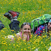 Entspannen auf der Blumenwiese © Raffalt/ TVB Filzmoos