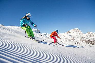 Skifahren am Nassfeld, (c) nassfeld.at  Fotograf: Martin Lugger