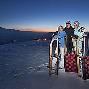 Tourismusbüro Bramberg - Die längste beleuchtete Rodelbahn der Welt