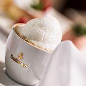 Dallmayr Milchschaumkaffee im Landhotel Eichingerbauer