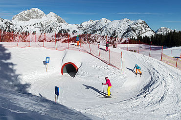 Fun im Schnee, (c) nassfeld.at  Fotograf: Daniel Zupanc (Daniel Zupanc-Fotografie)