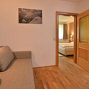 Familienappartement mit getrennten Schlafräumen
