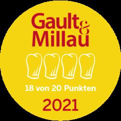 Gault Millau 2021 4 Hauben 18 Punkte
