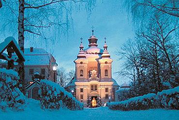 Wallfahrtskirche Christkindl in Steyr, © Tourismusverband Steyr/Meidl